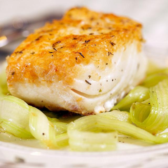 ... potato crusted halibut halibut recipe nwsource com crusted halibut